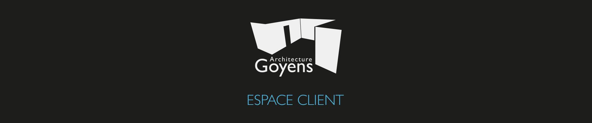 Architecte Goyens – Espace client